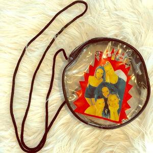 1995 Spice Girls Clutch Bag Zipper Purse Vintage